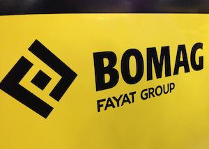 Bomag/Cedarapids branding
