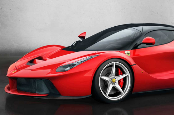 LaFerrari Side