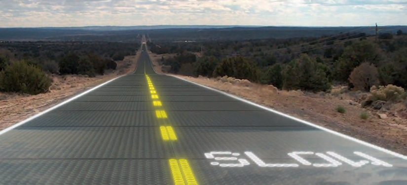 Solar Roadways road of the future