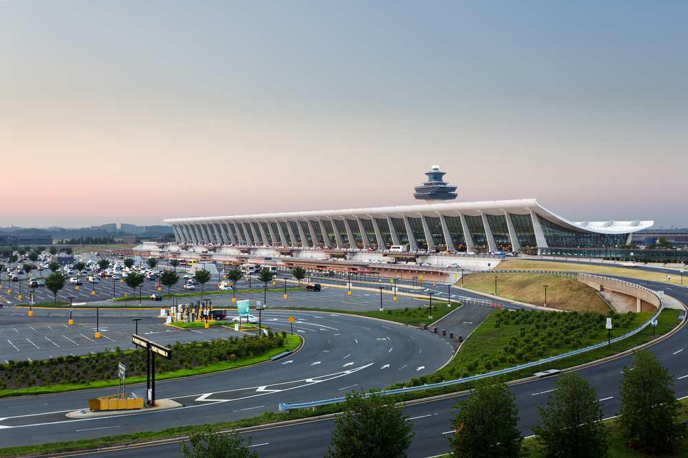 Washington Dulles International Airport is the destination of a planned metro railway station. Credit: Steve Heap / Shutterstock.com