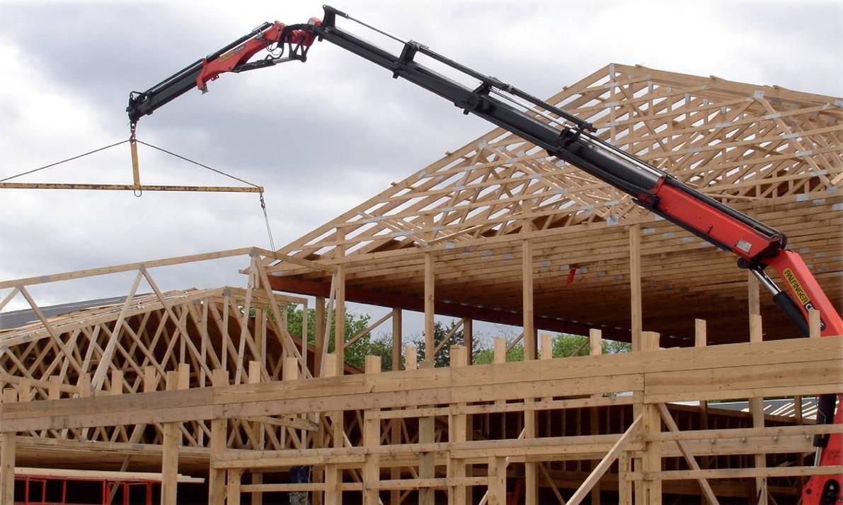 Image result for OSHA crane setting trusses images