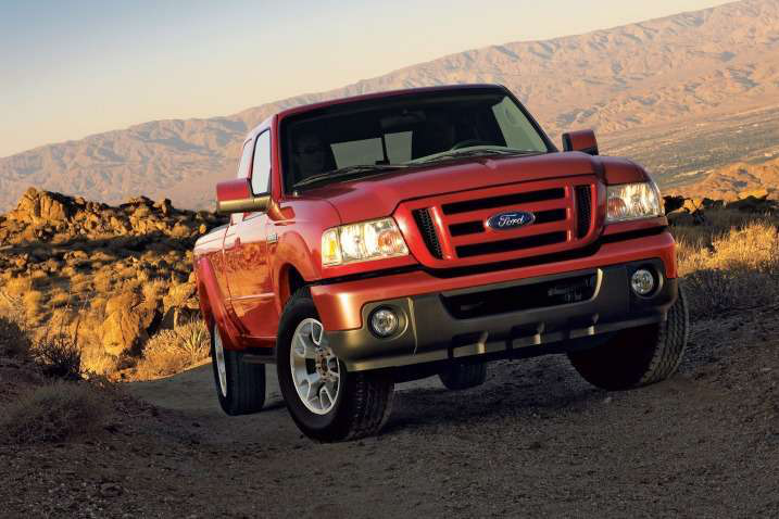 The 2011 Ford Ranger was the final model year for the small pickup.