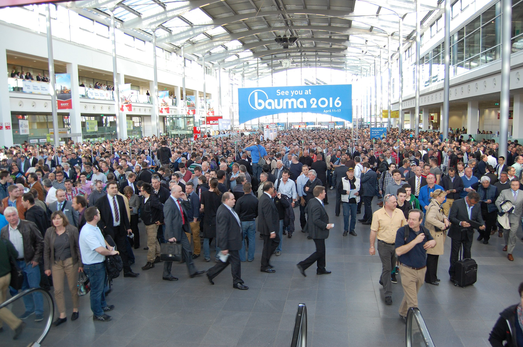 BAUMA, the world's biggest construction and mining equipment show opened today in Munich, Germany. More than 450,000 visitors are expected to attend and visit with some 3,400 exhibitors from 57 countries.