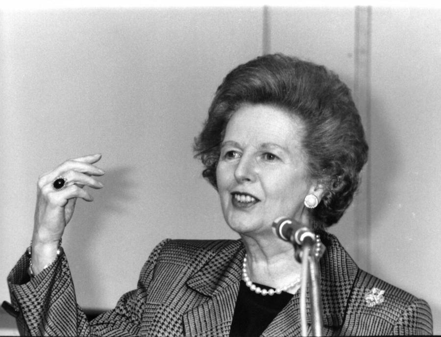 Margaret Thatcher, 1991