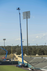 Genie SX-180 world's tallest boom lift