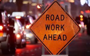 roadworksign