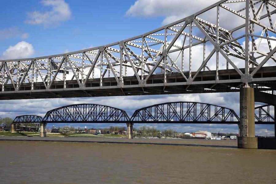 bridges over Ohio River