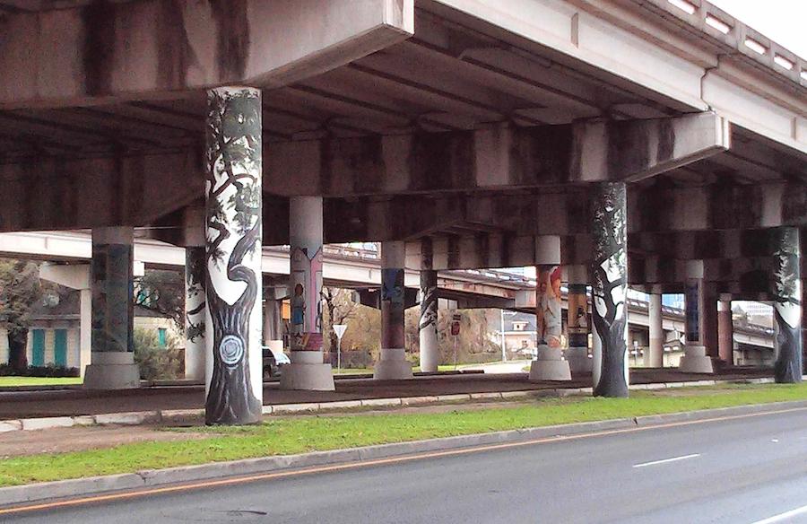 urban freeway; photo: Jessica Yoon