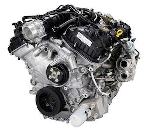 Ford's 3.5-liter EcoBoost V-6 engine.