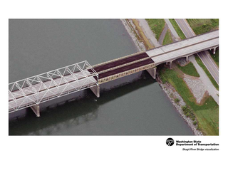 Visualization of the Skagit River Bridge temporary replacement (Photo: WSDOT / Flickr)