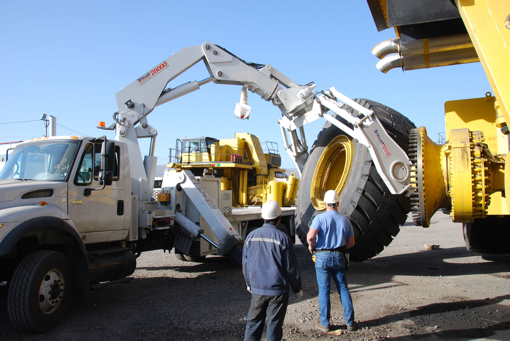 Replacing a used tire on a piece of equipment will not require a qualified or certified operator. Putting a new tire on a new piece of equipment will.