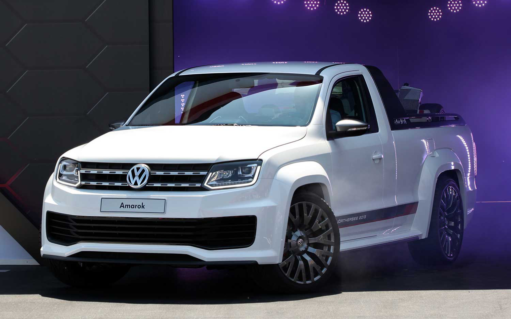VW's Amarok R Style 2 concept pickup