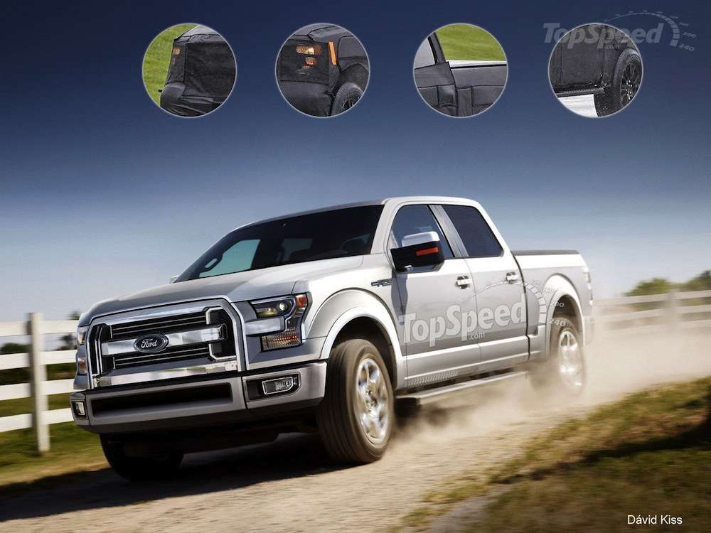 2015 Ford F-150 render