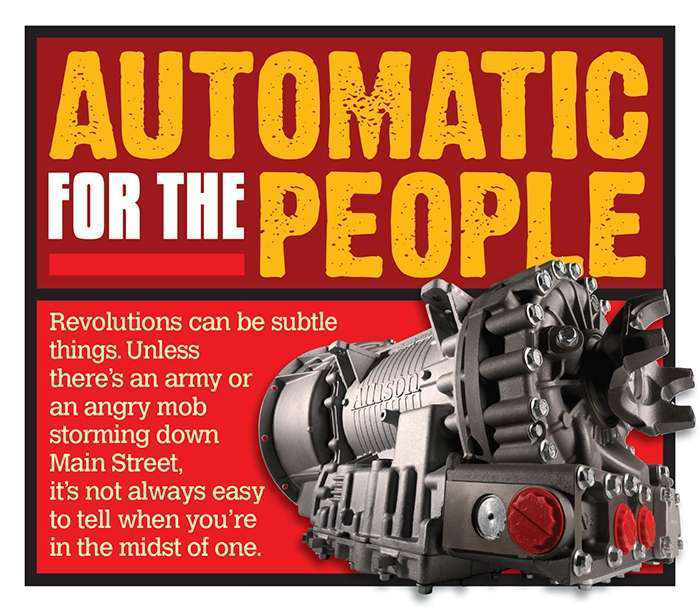 Auto for the People: Automatic, automated transmissions make