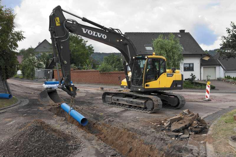 Volvo EC160D crawler excavator