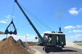 An Erie B crane will be in operation at the show. (Photo: HCEA)