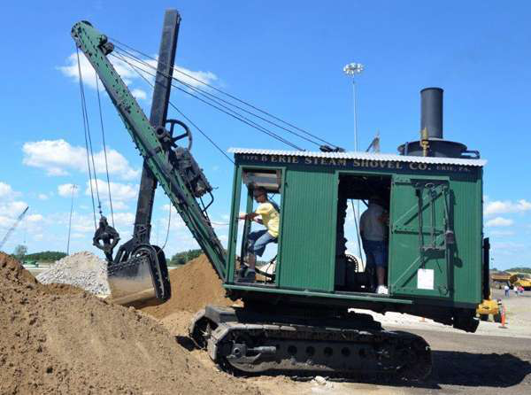 A demonstration of an Erie B steam shovel will be featured at the show. (Photo: HCEA)