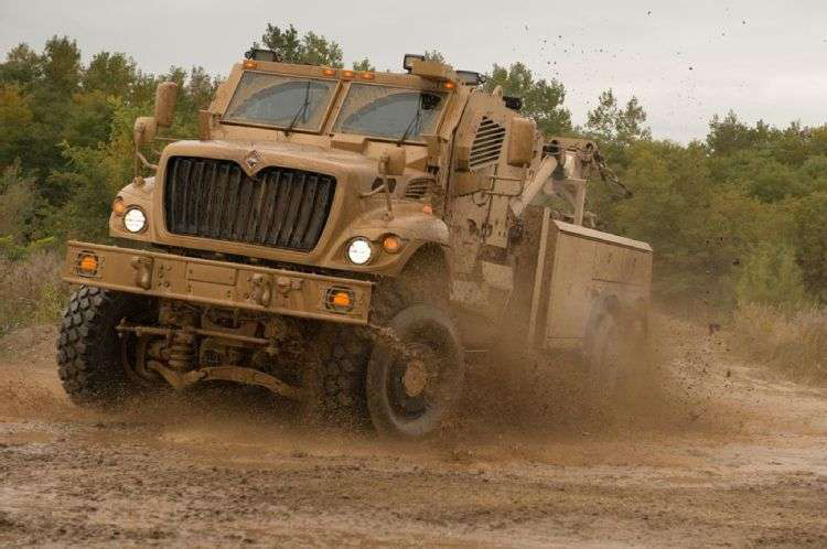 Navistar MaxxPro Recovery Vehicle