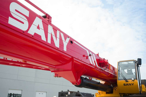 Sany SRC885 rough terrain crane