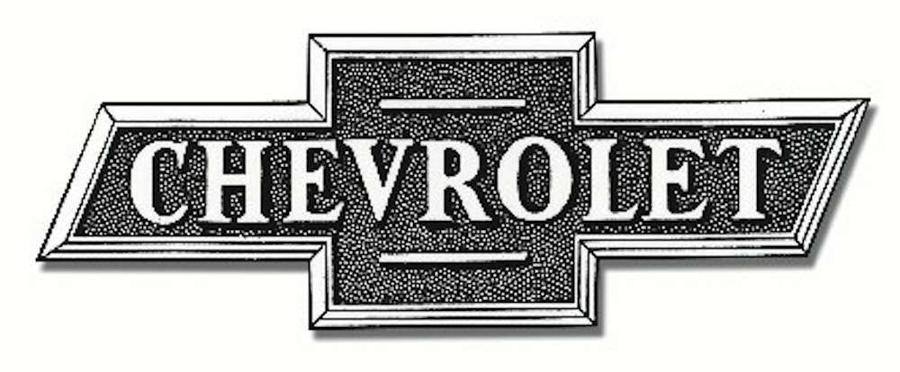 The original 1913 Chevrolet Bowtie