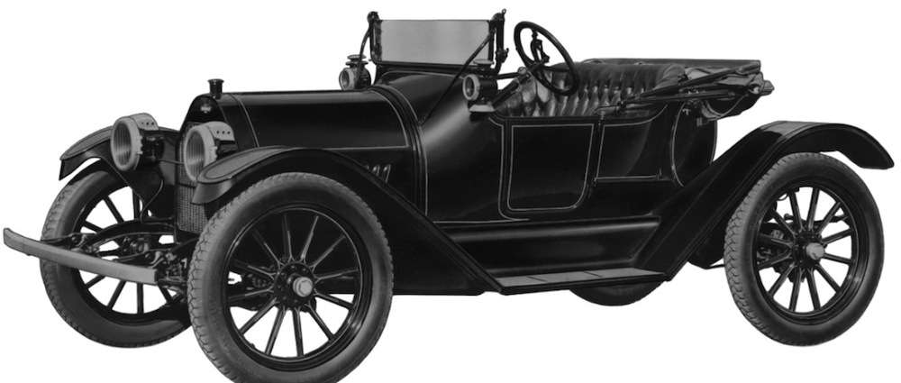 The 1914 Royal Mail is the first vehicle to bear the Chevy bowtie.