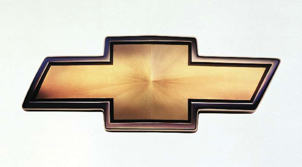 Trace the 100-year evolution of Chevrolet's 'bowtie' logo and the ...