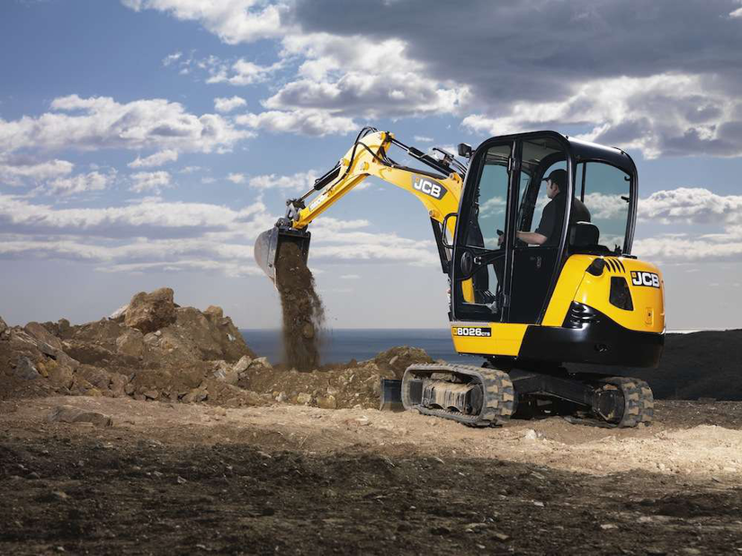 JCB 8026CTS compact excavator