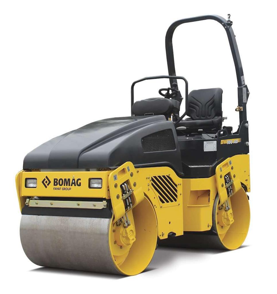 BOMAG BW100AD-4 tandem roller