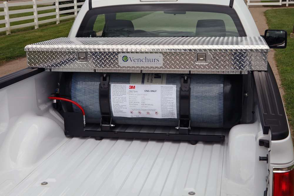 Ford details maintenance for CNG/LPG F-150, says truck can be