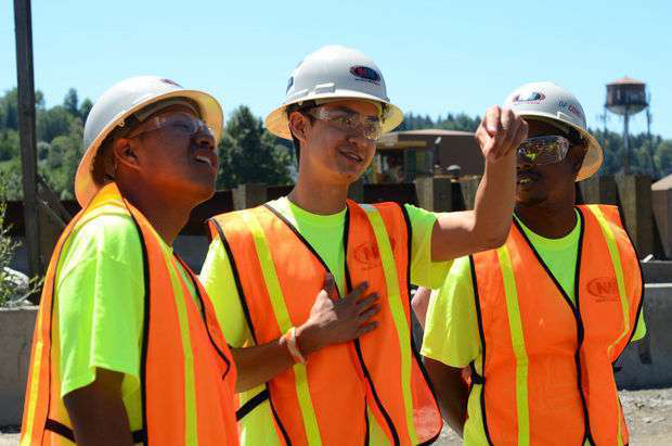 Oregon construction teens