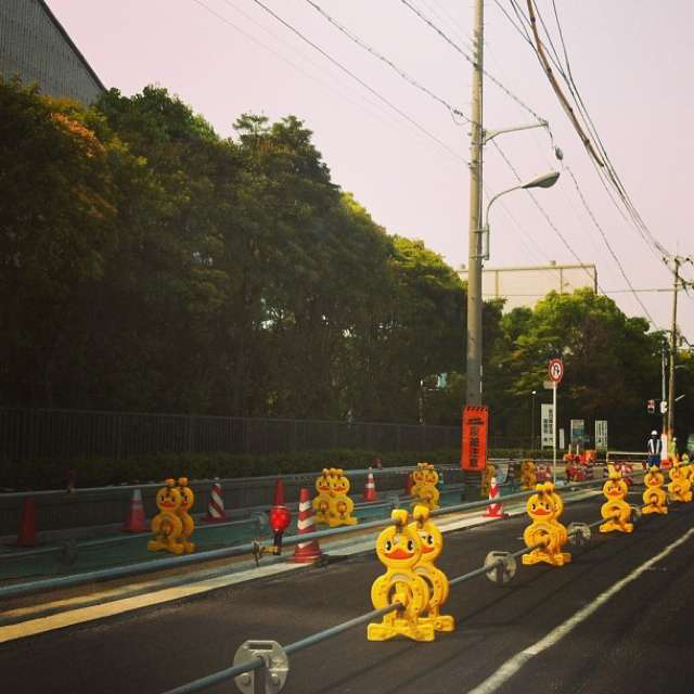 cute japanese road construction signs 4