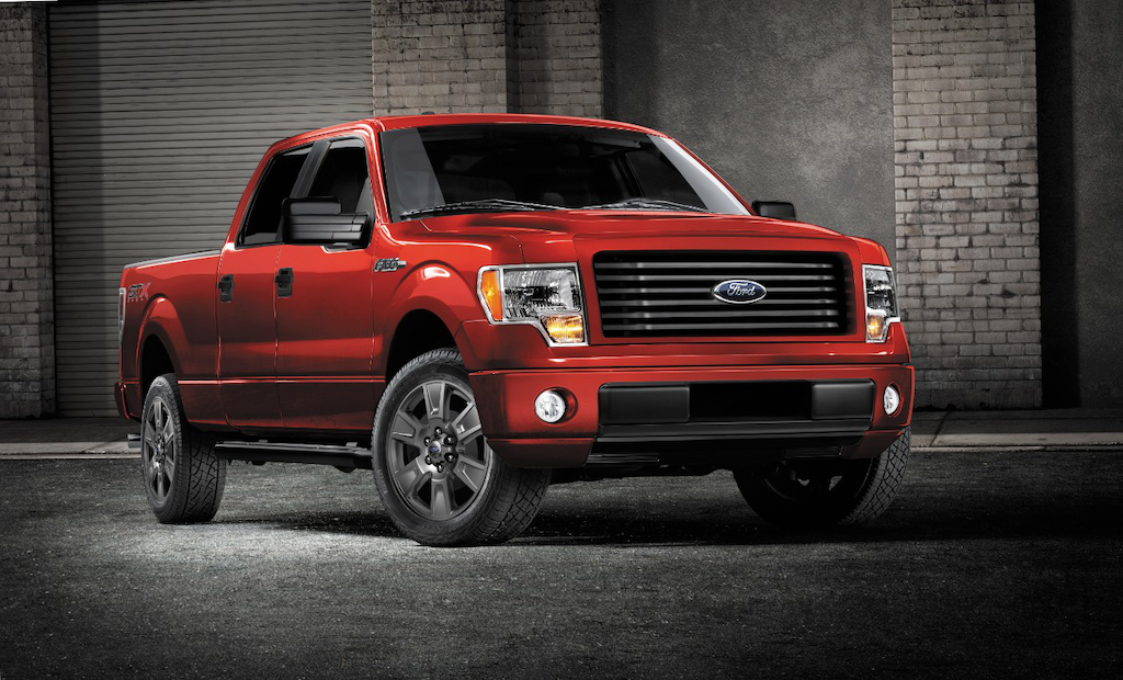 2014 Ford F-150 STX SuperCrew with Sport Package