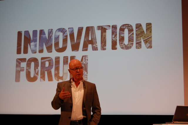 """Innovation is in our blood at Volvo CE, said Anders Larsson, executive Vice President of technology."