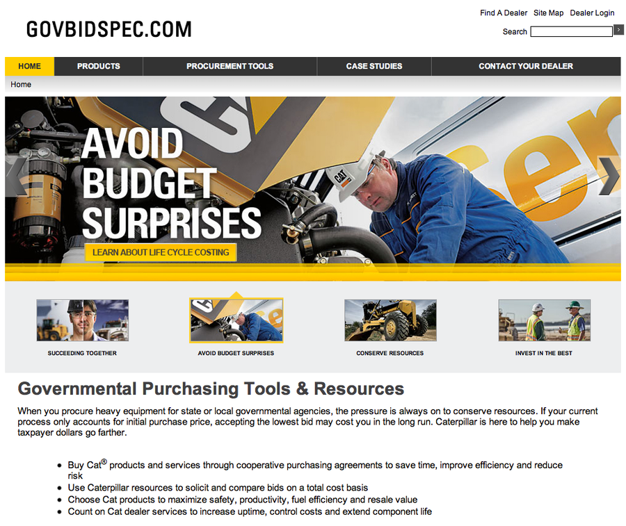 GovBidSpec.com