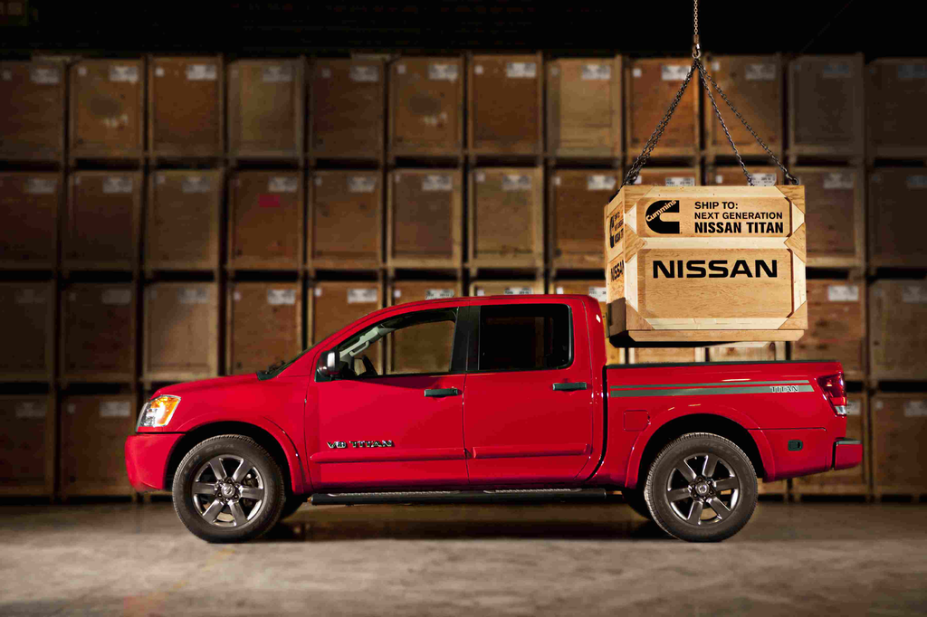 Next-generation Nissan Titan Cummins 5.0L V-8