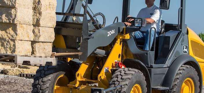 John Deere 204K compact wheel loader