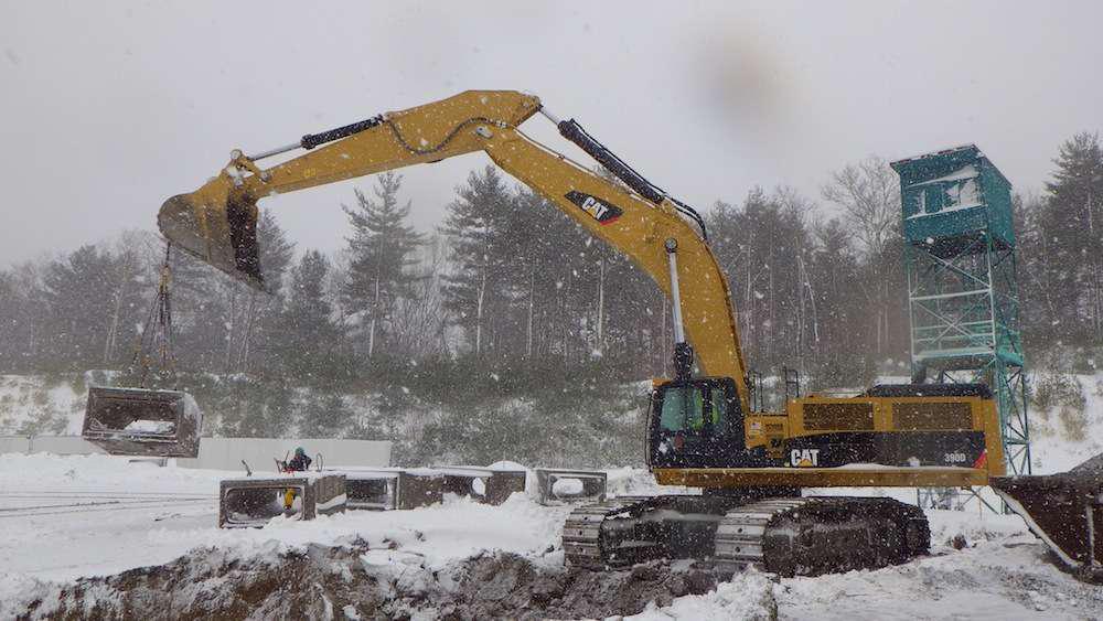John Walsh Cat exc in snow
