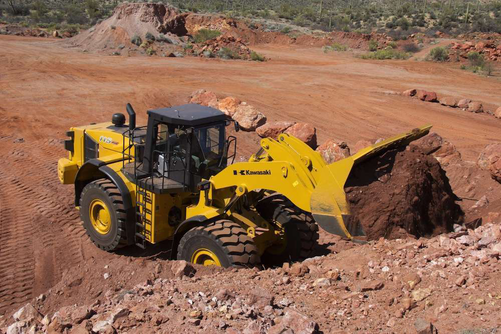 Kawasaki 115Z7 heavy duty wheel loader
