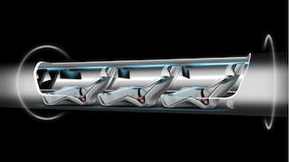 Each capsule would hold 28 passengers. (Photo: Tesla)
