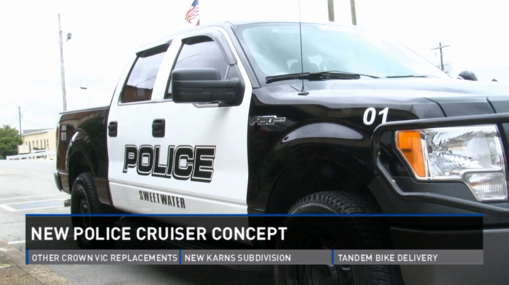 Sweetwater F-150 police cruiser