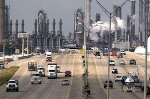 Shell Oil Deer Park Refinery