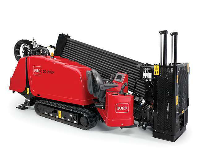 Toro's new entries into the HDD market, including the DD2024, will sport the company's familiar red paint.