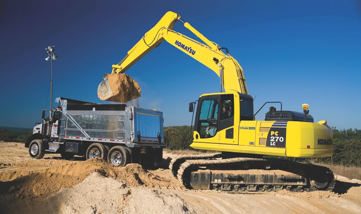 how to use trimble gps on excavator