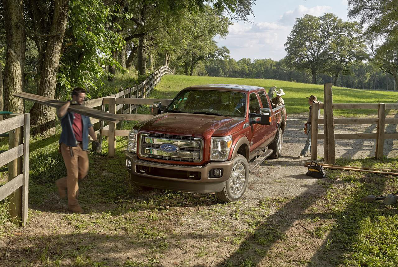 2015 Ford F-250 King Ranch Super Duty