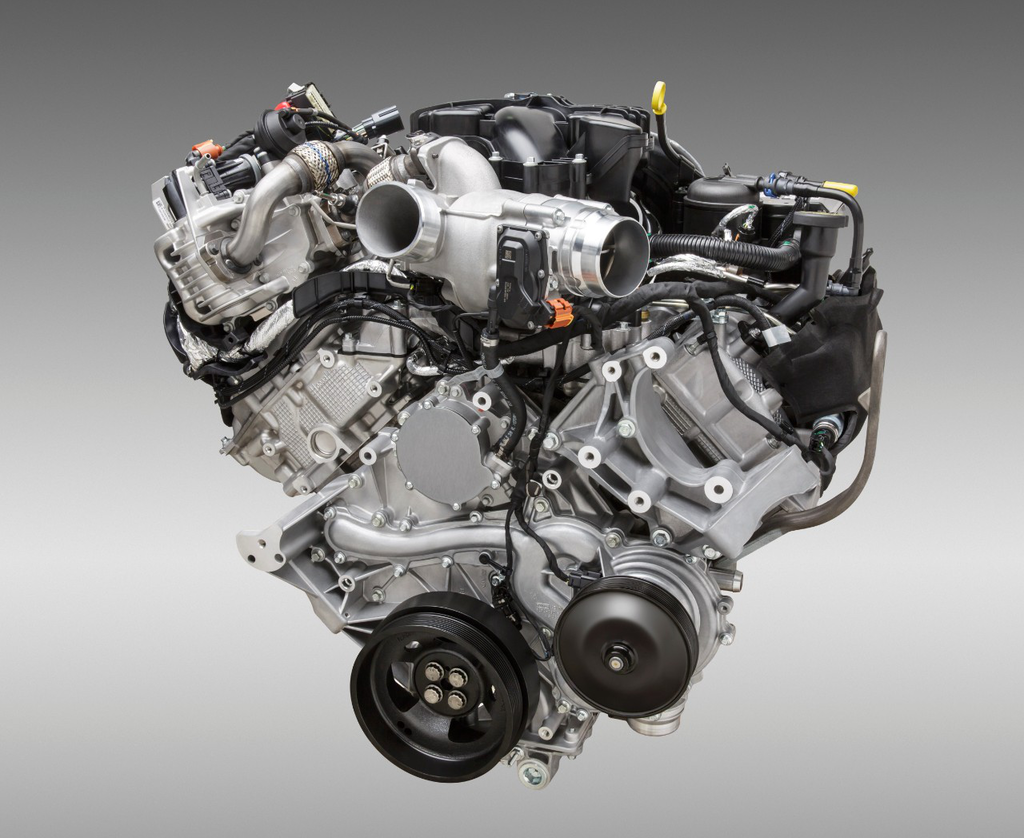 Ford 6.7-liter Power Strok V-8 turbocharged Diesel Engine