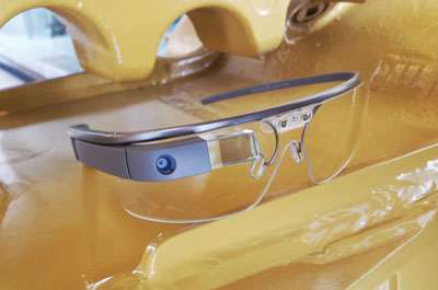 Google Glass safety glasses Caterpillar