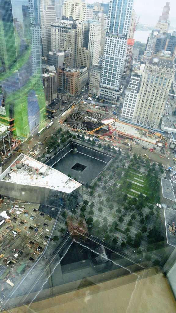 The 9/11 Memorial. Credit: hailstate41/Reddit