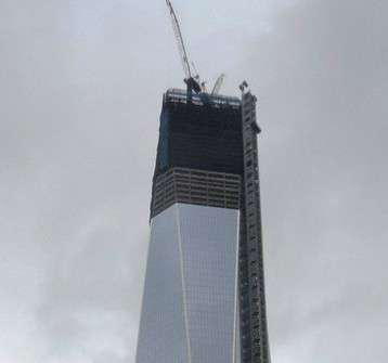 Inside Construction of the New World Trade Center