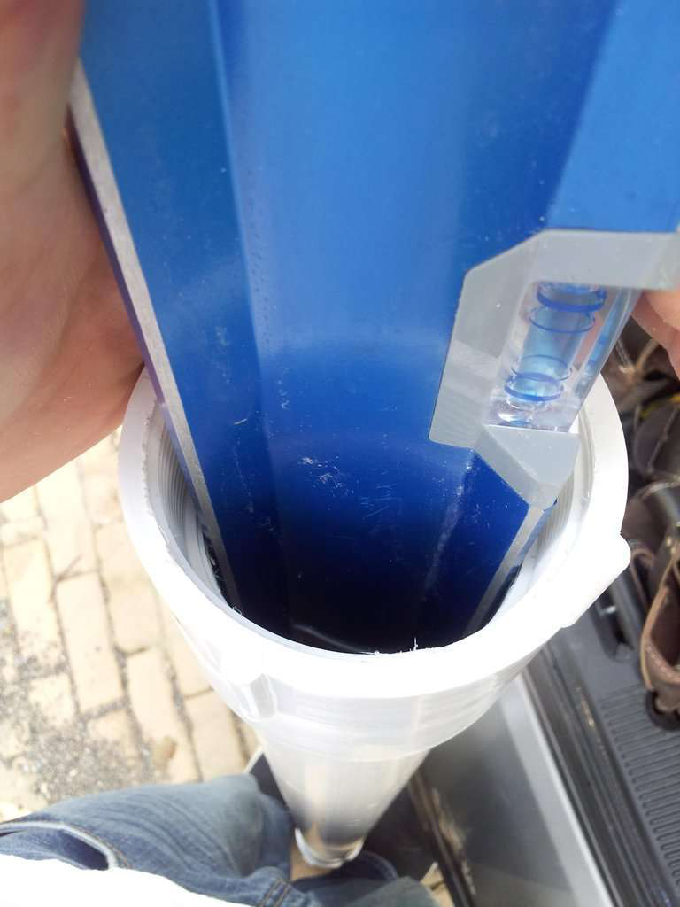 PVC level case