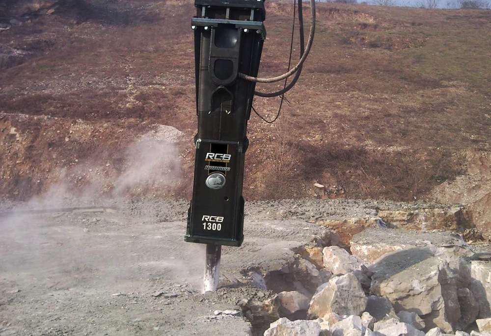 Rotobec RCB Tie-Rod construction breaker